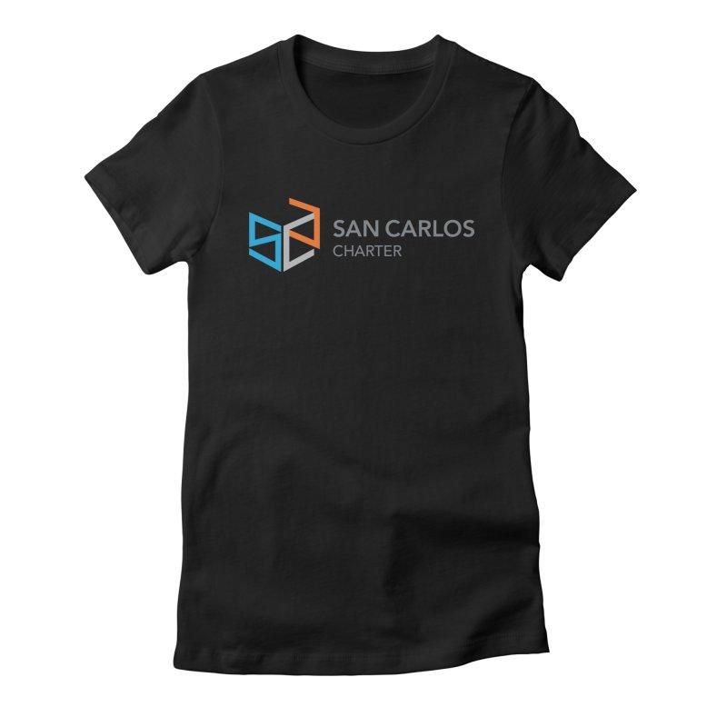 Charter Logo Horizontal Women's T-Shirt by San Carlos Charter Spirit Store