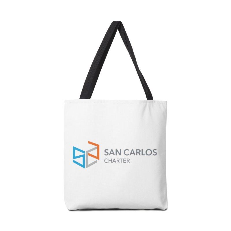 Charter Logo Horizontal Accessories Bag by San Carlos Charter Spirit Store