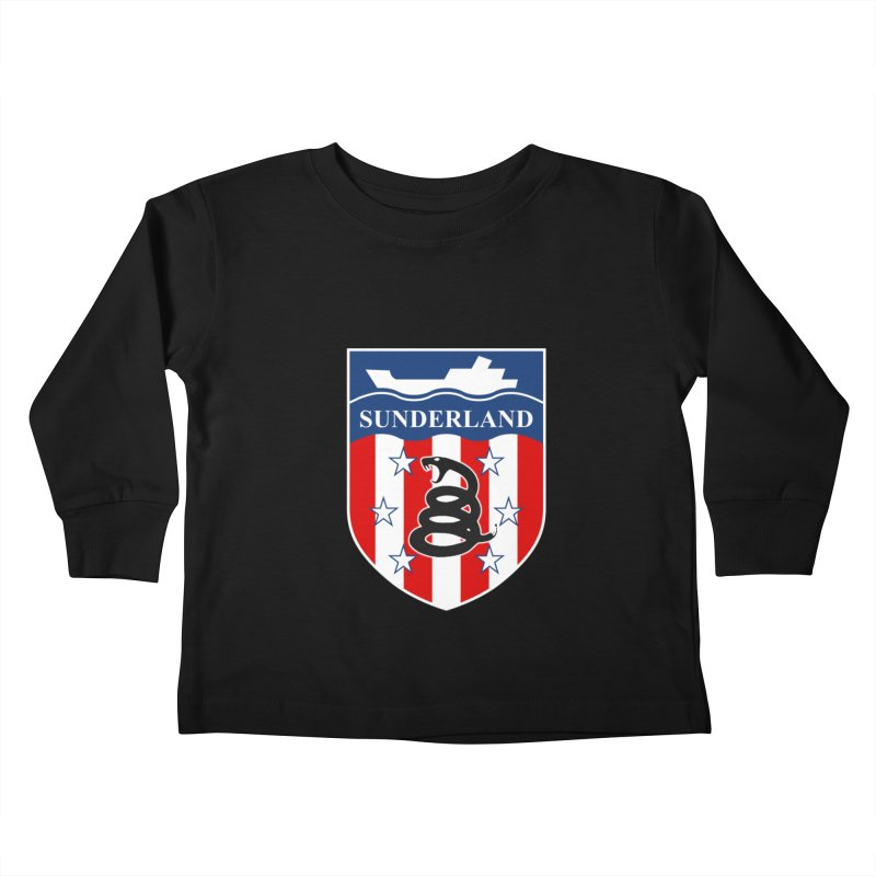 Sons of Liberty SAFC Kids Toddler Longsleeve T-Shirt by Sanctuary Sports LLC