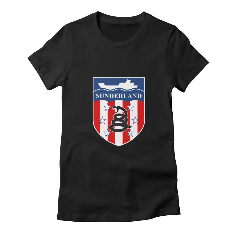 Sons of Liberty SAFC Women's Fitted T-Shirt by Sanctuary Sports