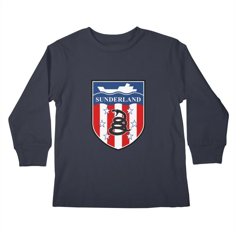Sons of Liberty SAFC Kids Longsleeve T-Shirt by Sanctuary Sports LLC