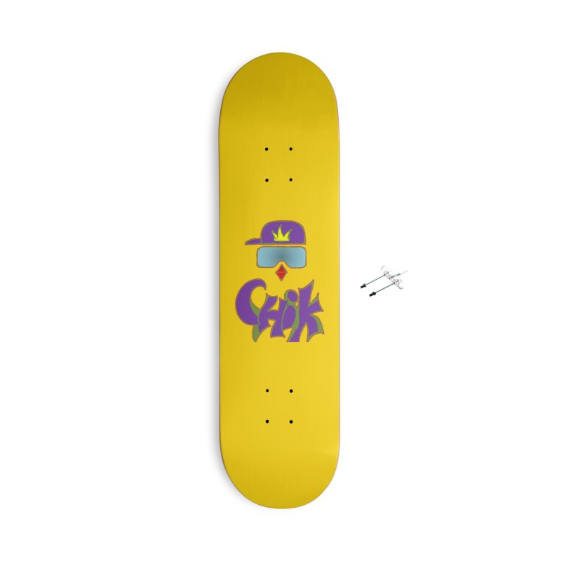 CHiK Boardwear Accessories Skateboard by Sanctuary Sports LLC