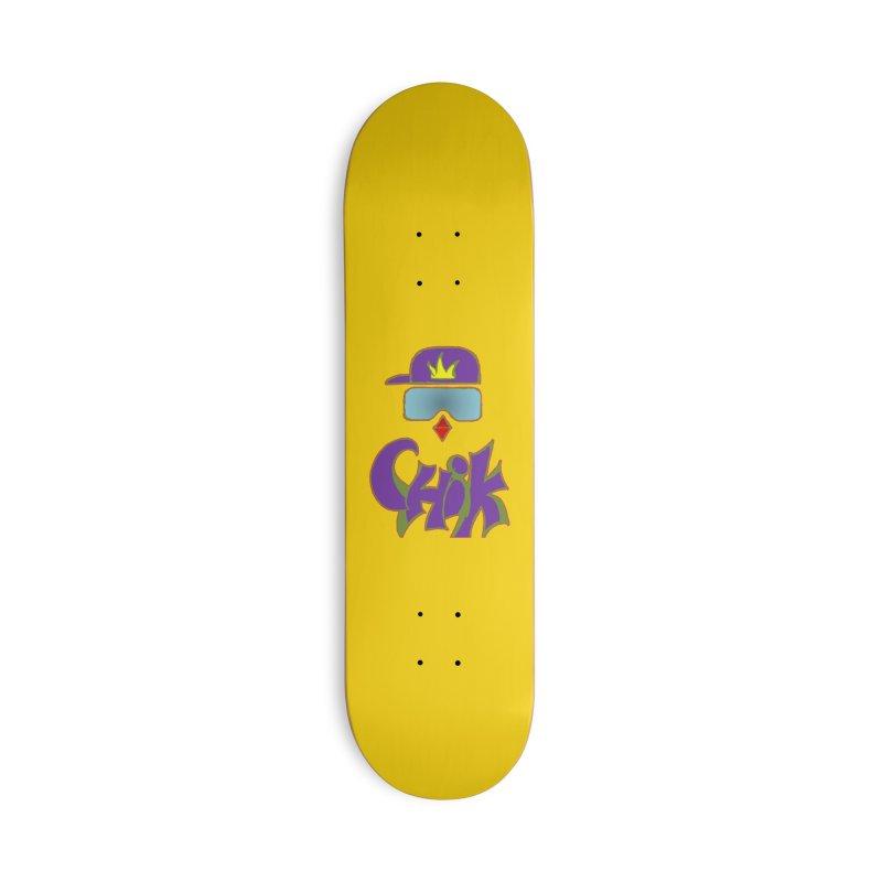 CHiK Boardwear Accessories Deck Only Skateboard by Sanctuary Sports
