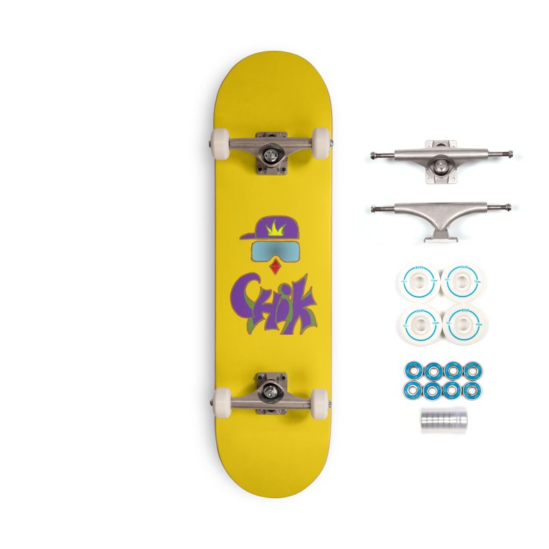 CHiK Boardwear Accessories Complete - Basic Skateboard by Sanctuary Sports
