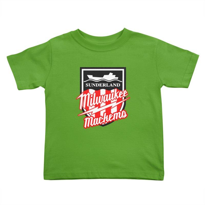Milwaukee Mackems Kids Toddler T-Shirt by Sanctuary Sports LLC