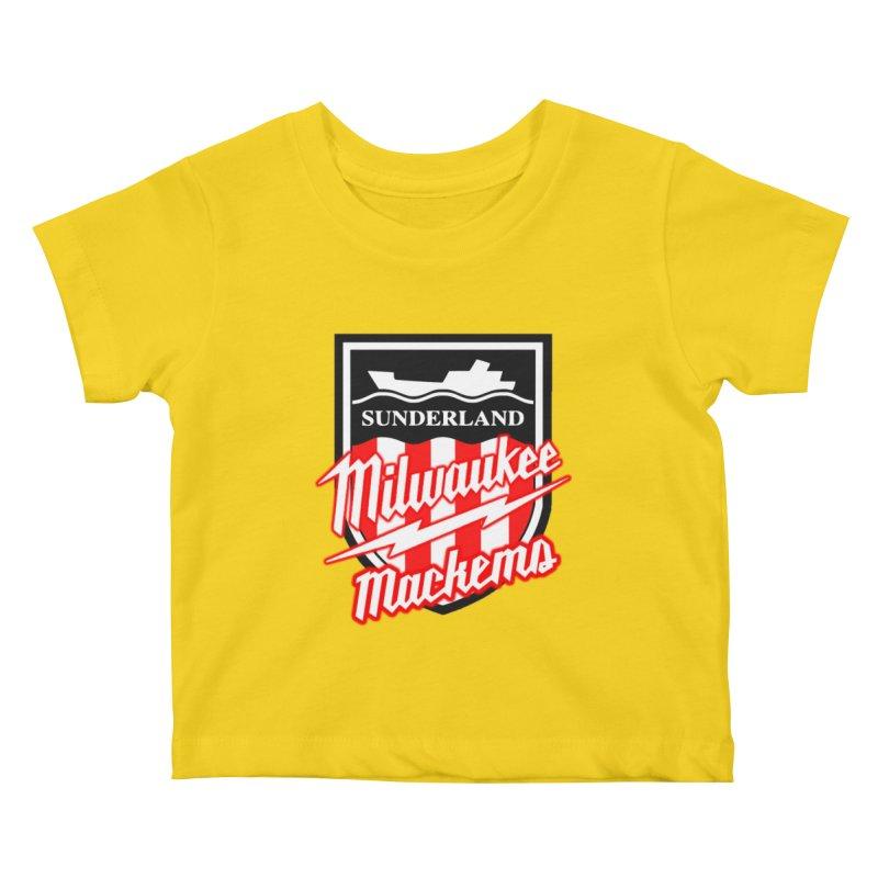 Milwaukee Mackems Kids Baby T-Shirt by Sanctuary Sports