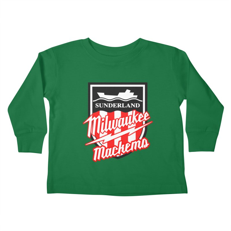 Milwaukee Mackems Kids Toddler Longsleeve T-Shirt by Sanctuary Sports