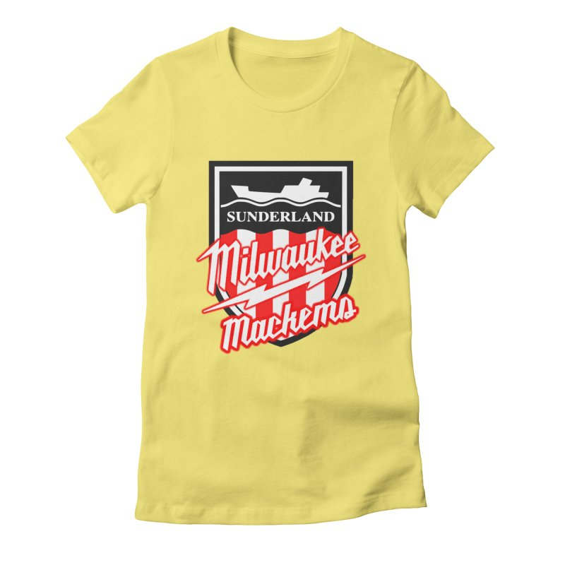 Milwaukee Mackems Women's Fitted T-Shirt by Sanctuary Sports