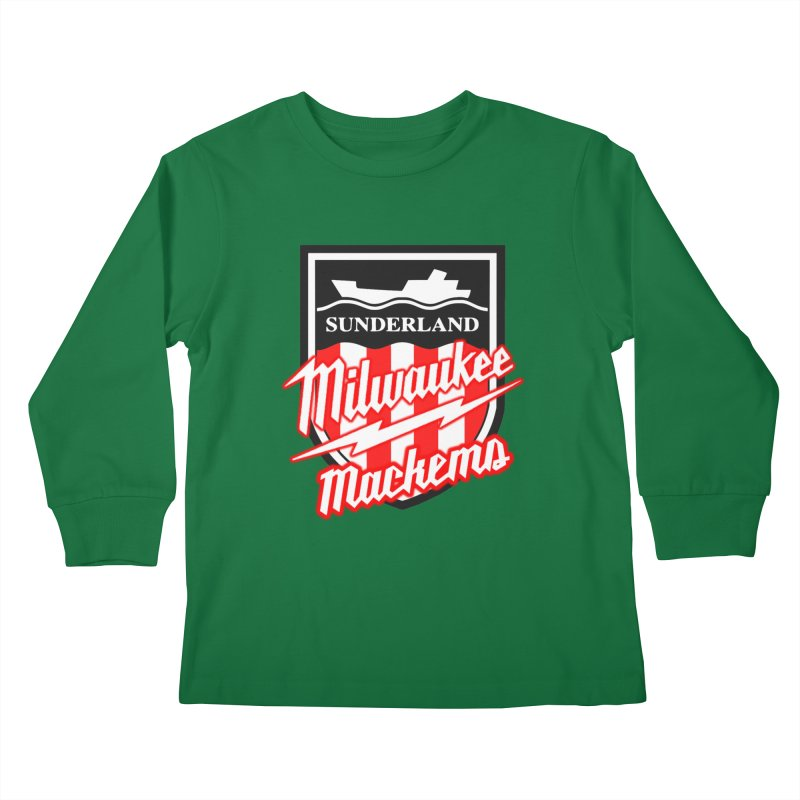Milwaukee Mackems Kids Longsleeve T-Shirt by Sanctuary Sports
