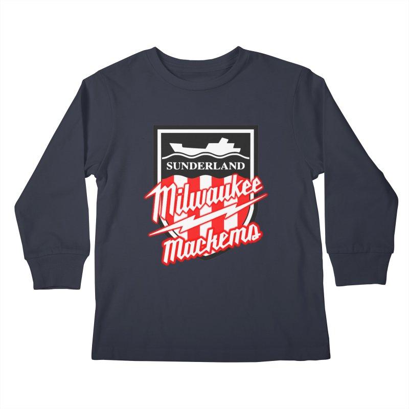 Milwaukee Mackems Kids Longsleeve T-Shirt by Sanctuary Sports LLC