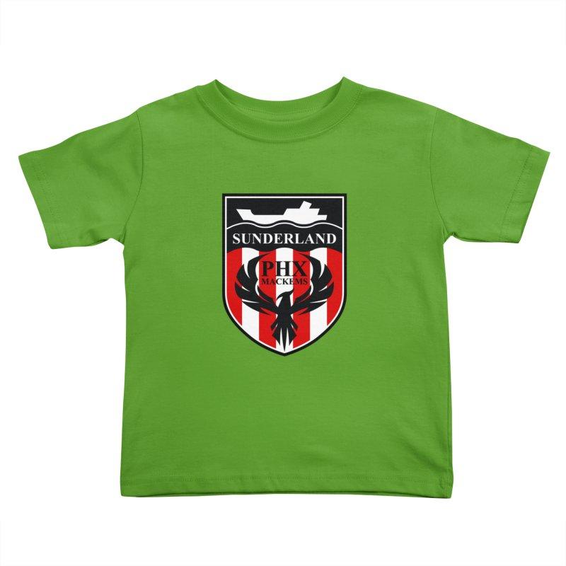 Phoenix Mackems Kids Toddler T-Shirt by Sanctuary Sports LLC