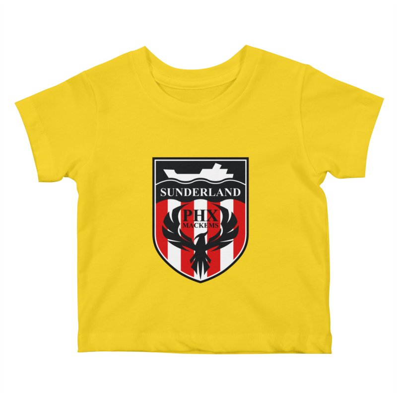 Phoenix Mackems Kids Baby T-Shirt by Sanctuary Sports