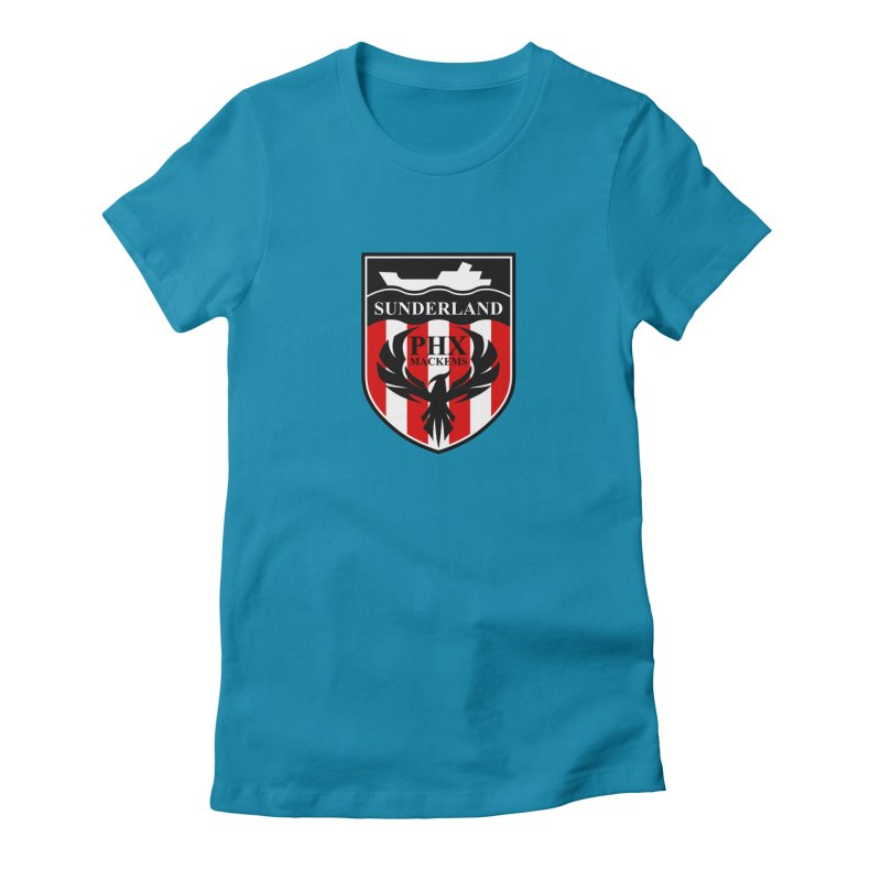 Phoenix Mackems Women's Fitted T-Shirt by Sanctuary Sports