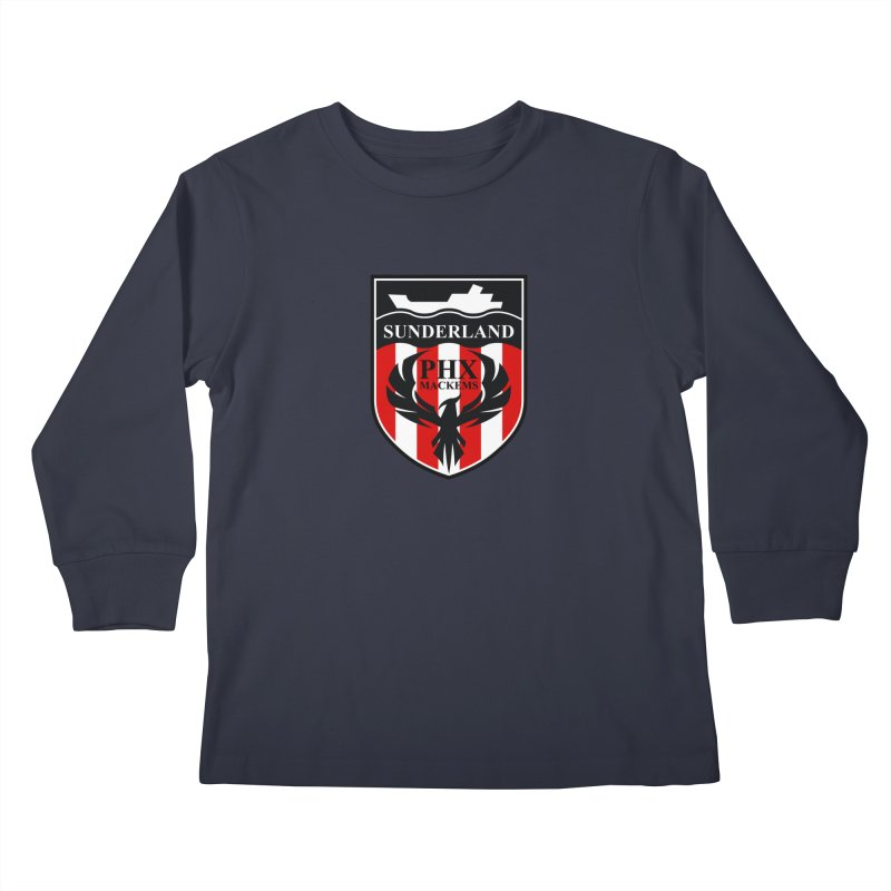 Phoenix Mackems Kids Longsleeve T-Shirt by Sanctuary Sports LLC