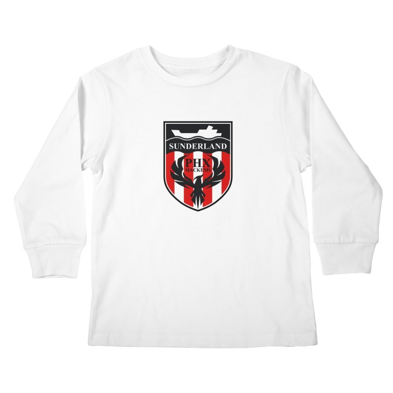 Phoenix Mackems Kids Longsleeve T-Shirt by Sanctuary Sports