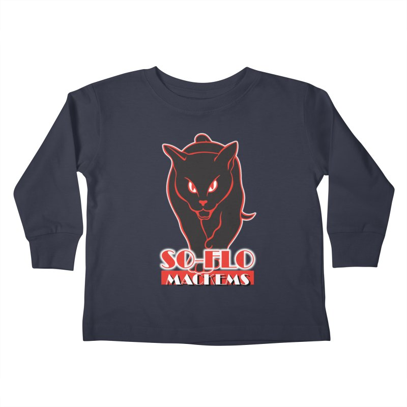 South Florida Mackems Kids Toddler Longsleeve T-Shirt by Sanctuary Sports