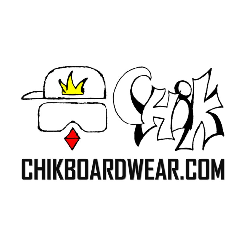 CHiK Boardwear DOT COM Accessories Skateboard by Sanctuary Sports LLC