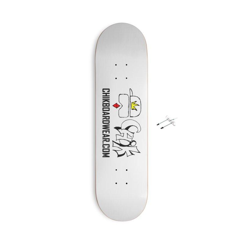 CHiK Boardwear DOT COM Accessories Skateboard by Sanctuary Sports LLC