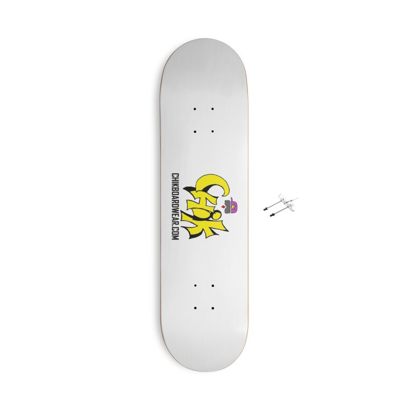 CHiK Coloriphic Accessories With Hanging Hardware Skateboard by Sanctuary Sports