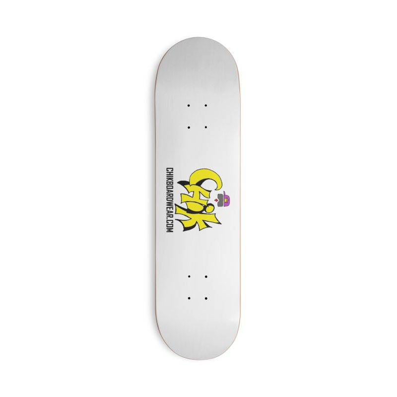 CHiK Coloriphic Accessories Deck Only Skateboard by Sanctuary Sports