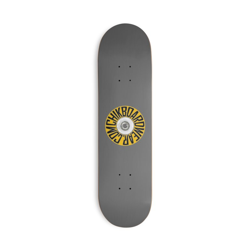 CHiK Boardwear 'Wheelz' Accessories Skateboard by Sanctuary Sports LLC