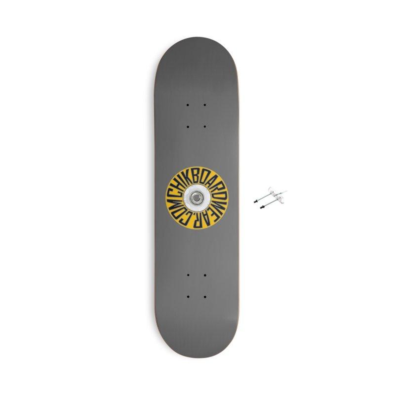 CHiK Boardwear 'Wheelz' Accessories Skateboard by Sanctuary Sports LLC