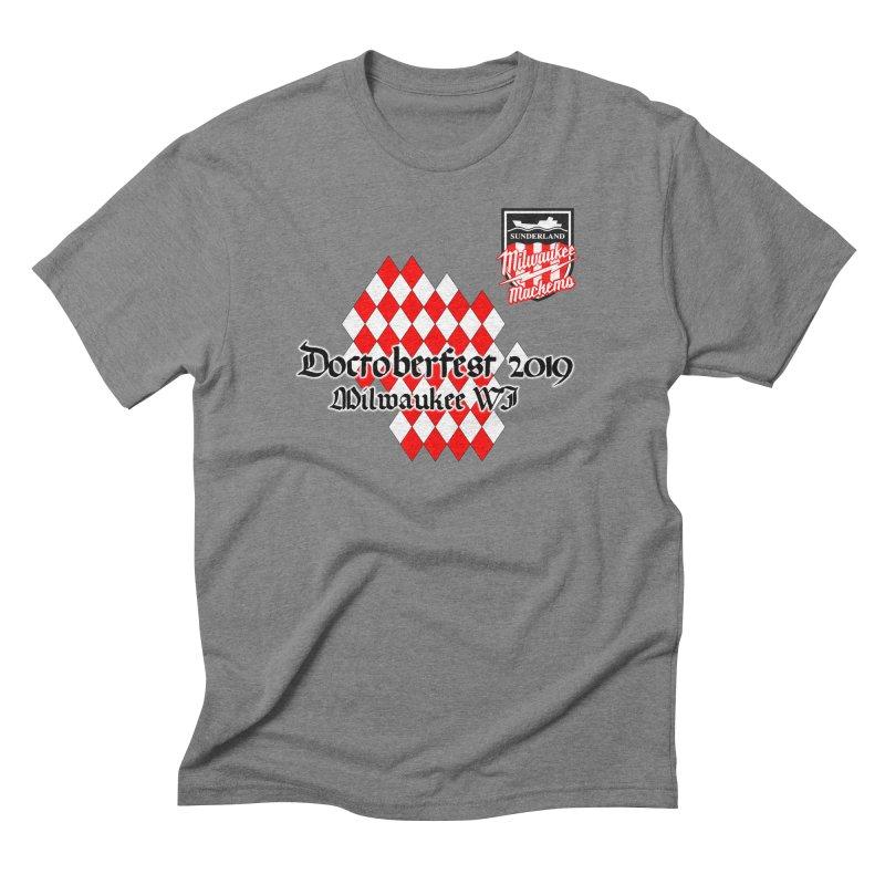 MKE Mackems Doctoberfest Men's Triblend T-Shirt by Sanctuary Sports