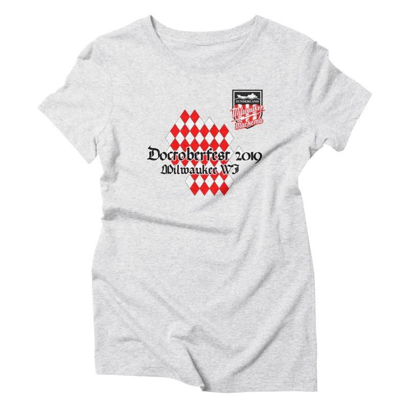 MKE Mackems Doctoberfest Women's Triblend T-Shirt by Sanctuary Sports