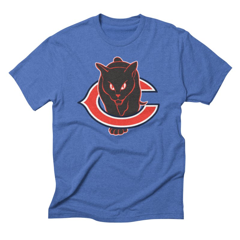 Chicago Black Cats Men's T-Shirt by Sanctuary Sports LLC