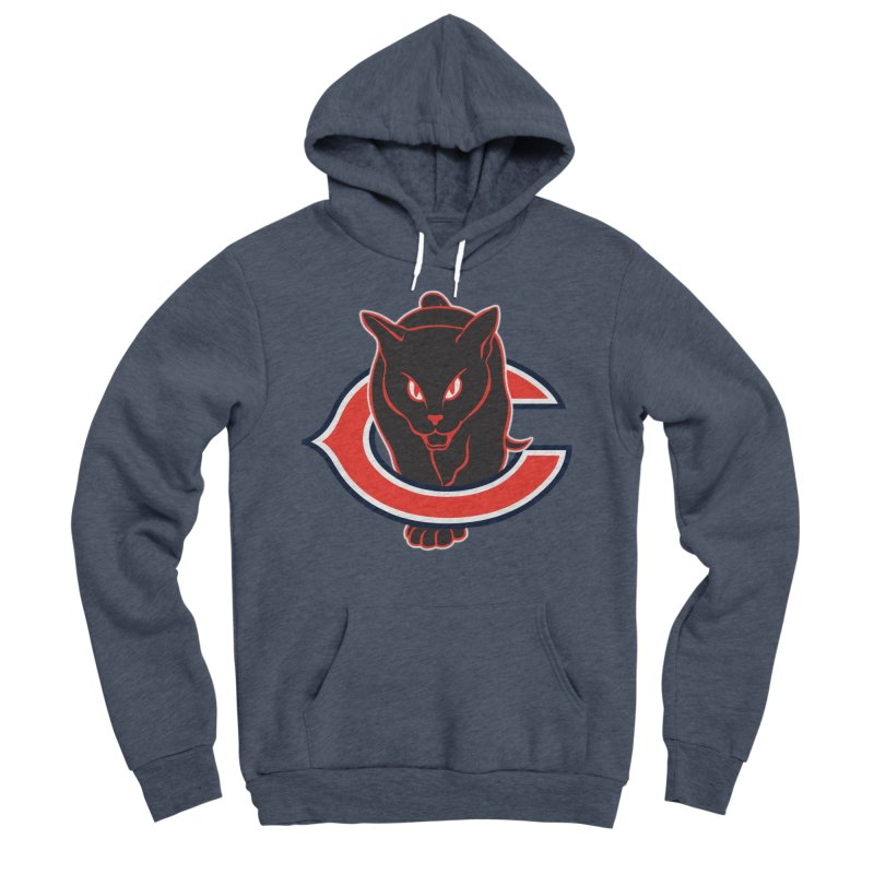 Chicago Black Cats Women's Sponge Fleece Pullover Hoody by Sanctuary Sports