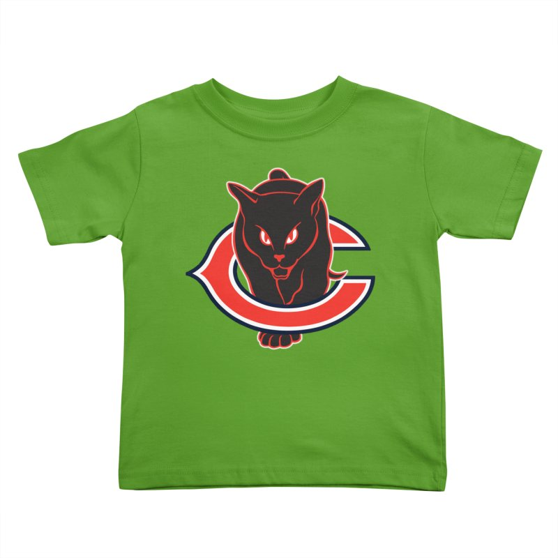 Chicago Black Cats Kids Toddler T-Shirt by Sanctuary Sports LLC