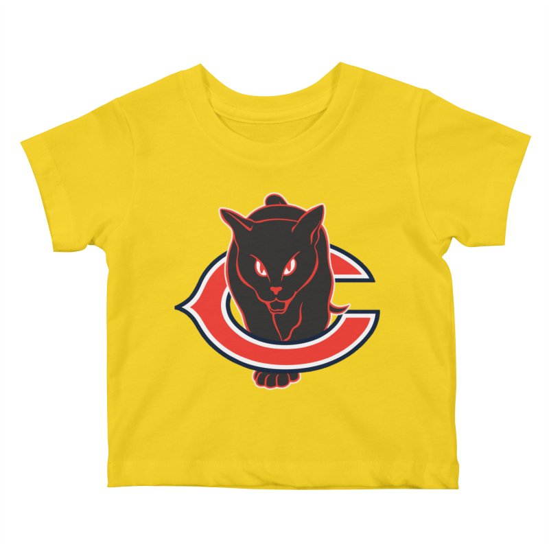 Chicago Black Cats Kids Baby T-Shirt by Sanctuary Sports
