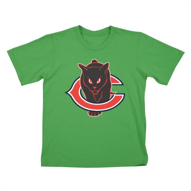 Chicago Black Cats Kids T-Shirt by Sanctuary Sports LLC