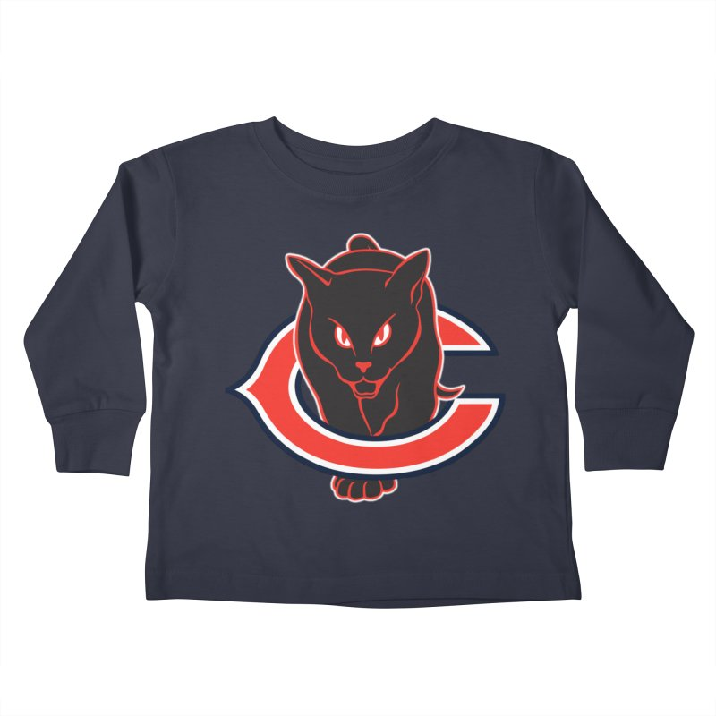 Chicago Black Cats Kids Toddler Longsleeve T-Shirt by Sanctuary Sports