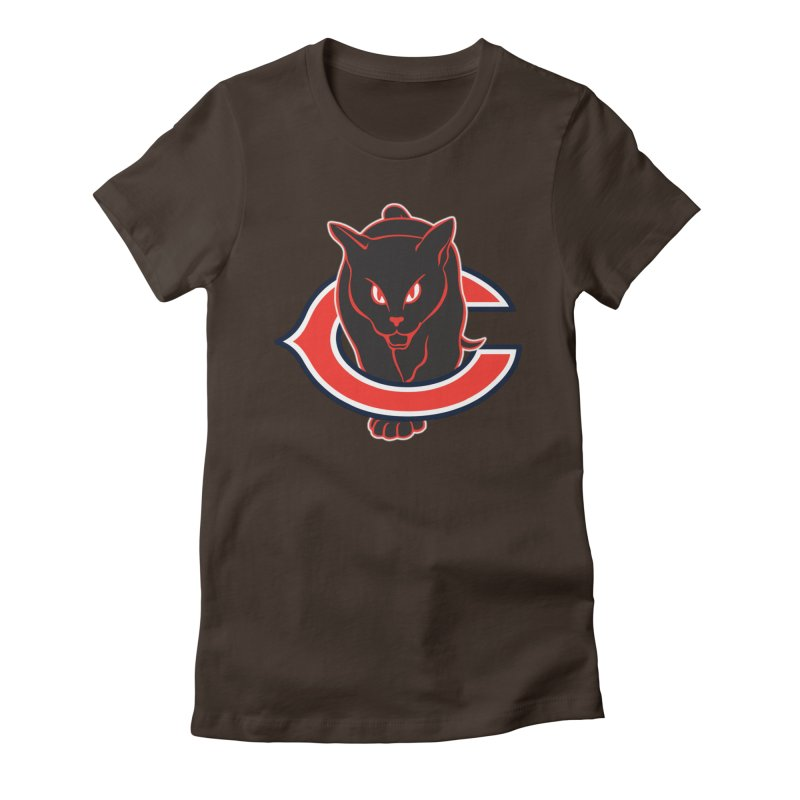 Chicago Black Cats Women's Fitted T-Shirt by Sanctuary Sports