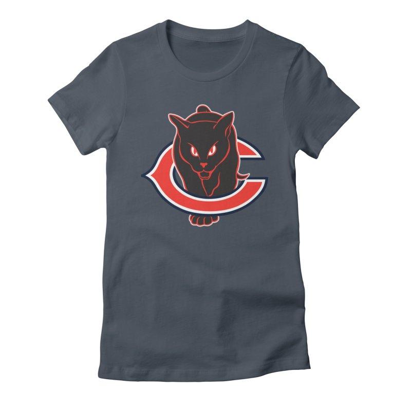 Chicago Black Cats Women's T-Shirt by Sanctuary Sports LLC