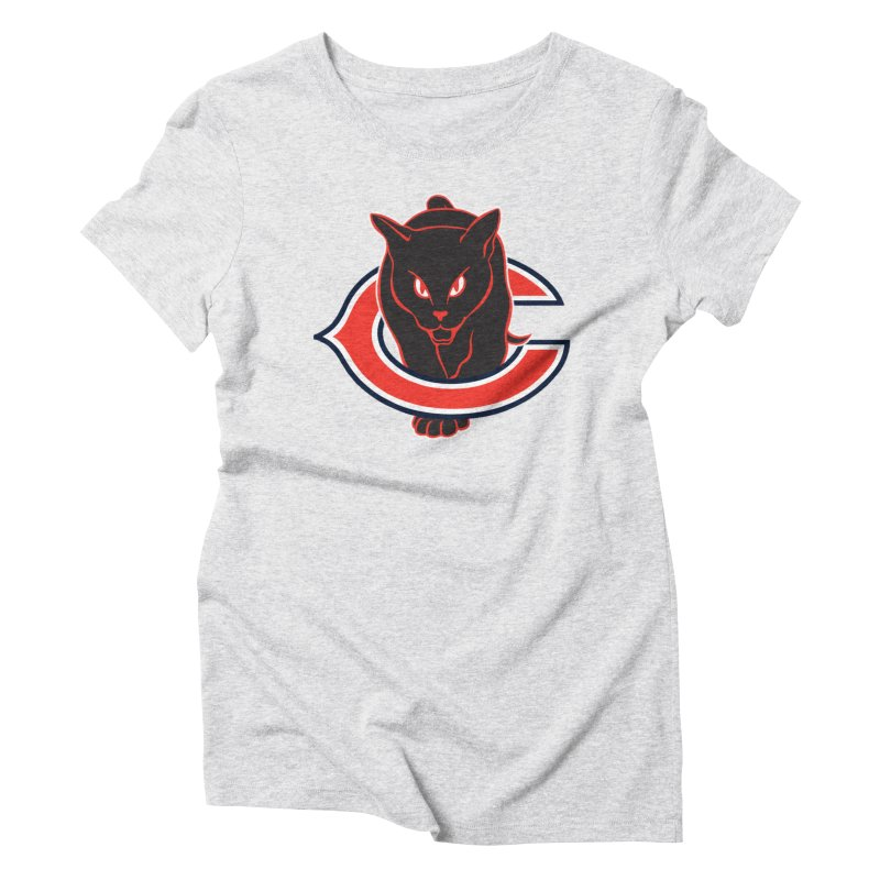 Chicago Black Cats Women's Triblend T-Shirt by Sanctuary Sports