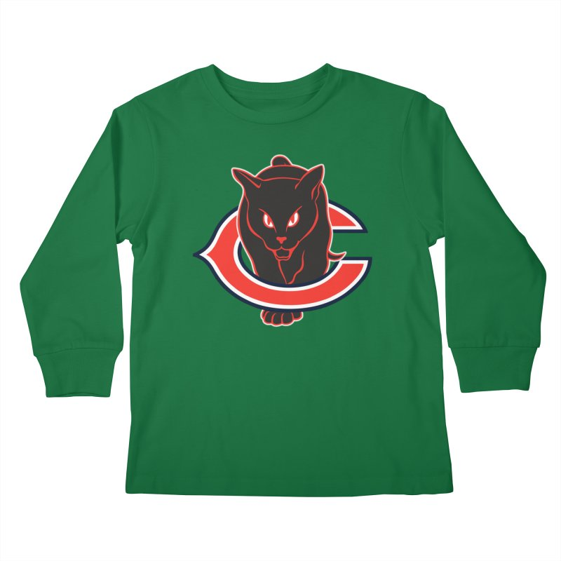 Chicago Black Cats Kids Longsleeve T-Shirt by Sanctuary Sports