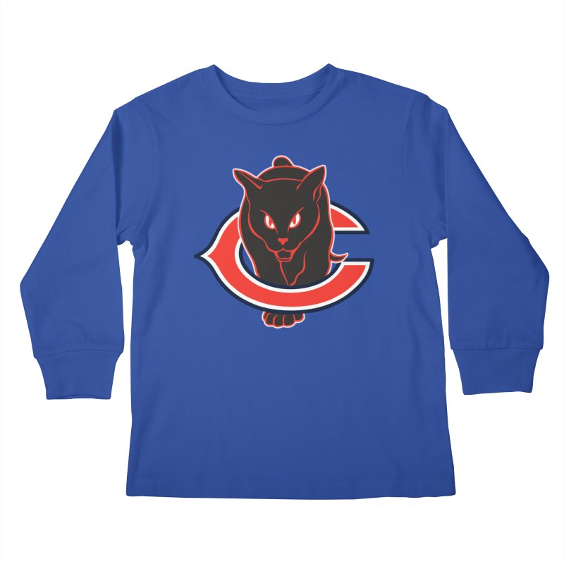 Chicago Black Cats Kids Longsleeve T-Shirt by Sanctuary Sports