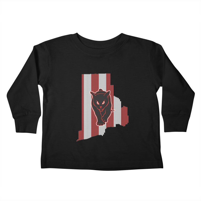 Rhode Island Mackems Kids Toddler Longsleeve T-Shirt by Sanctuary Sports