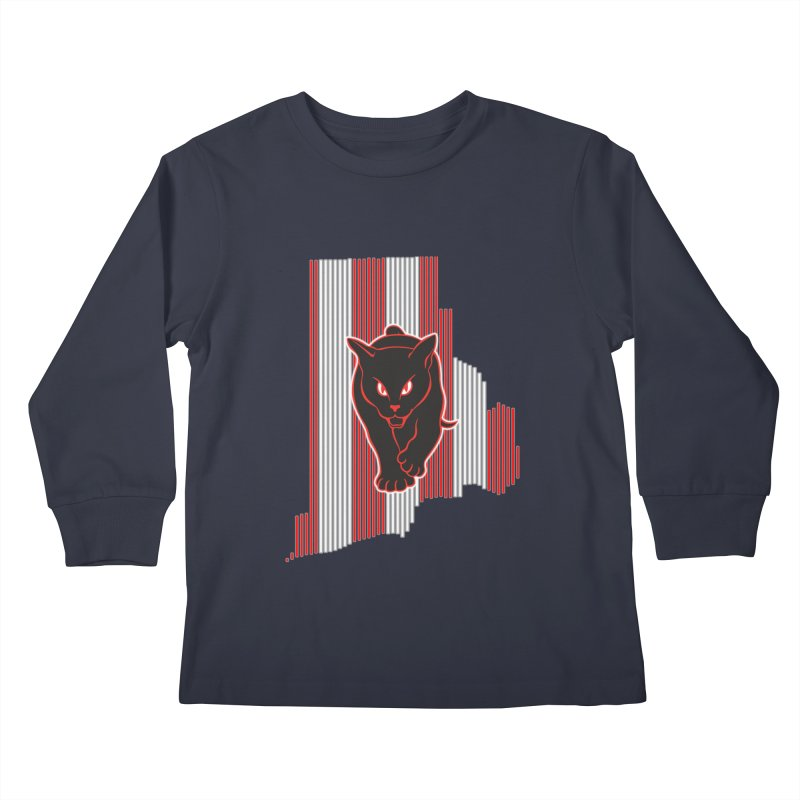 Rhode Island Mackems Kids Longsleeve T-Shirt by Sanctuary Sports