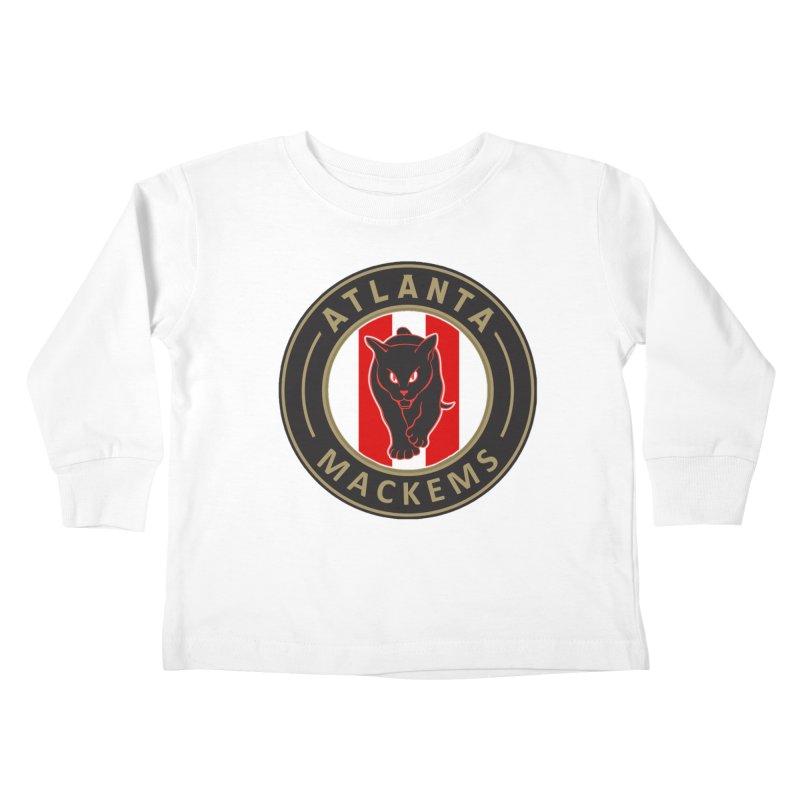 Atlanta Mackems Kids Toddler Longsleeve T-Shirt by Sanctuary Sports