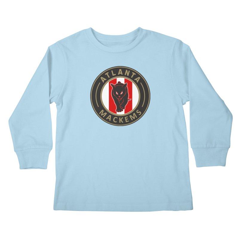 Atlanta Mackems Kids Longsleeve T-Shirt by Sanctuary Sports