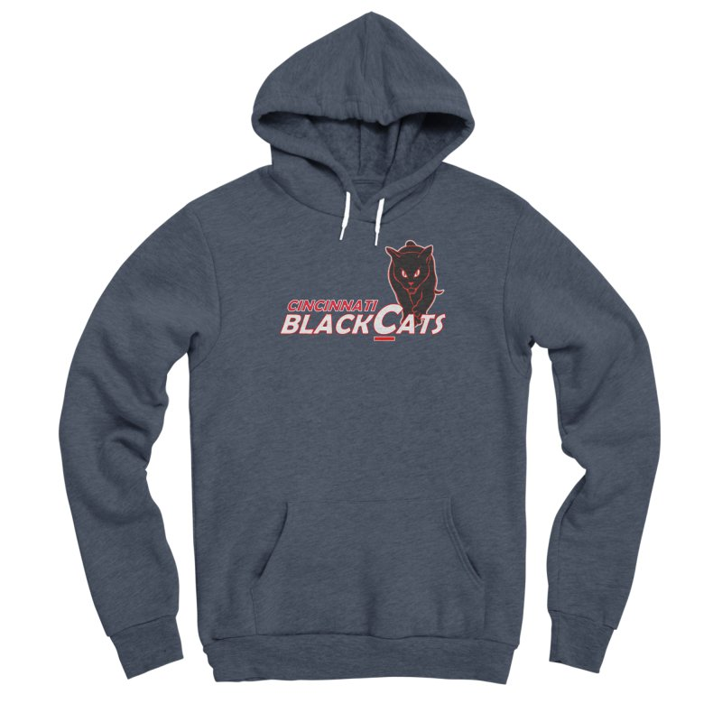 Cincinnati Black Cats Women's Pullover Hoody by Sanctuary Sports LLC