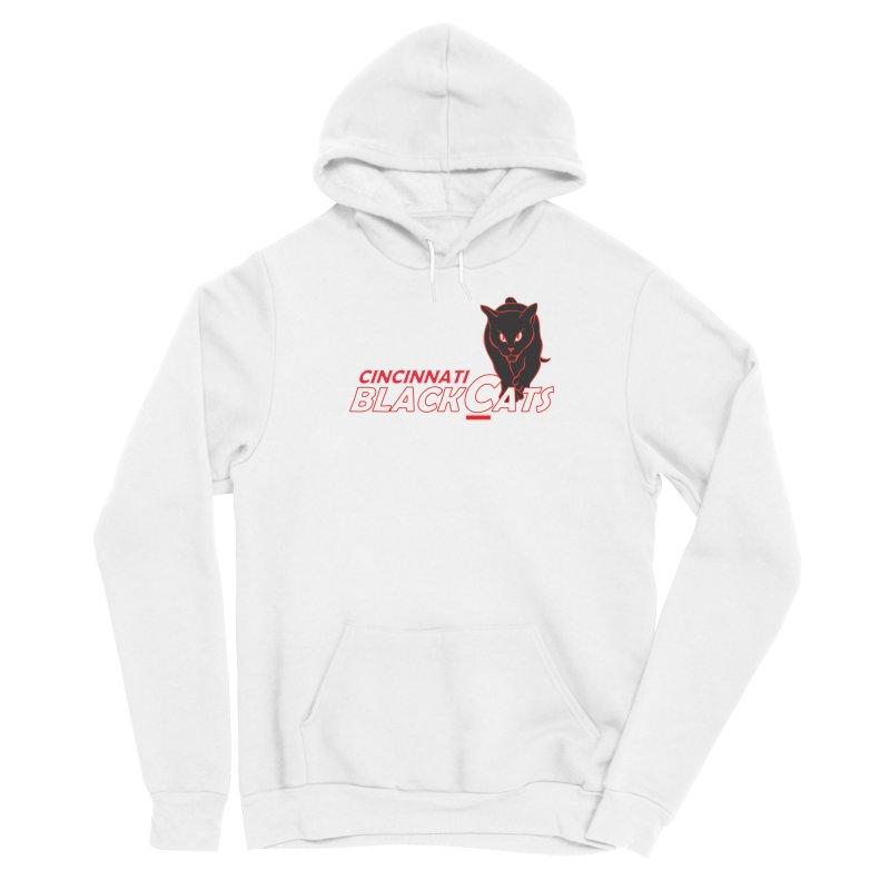 Cincinnati Black Cats Men's Pullover Hoody by Sanctuary Sports LLC