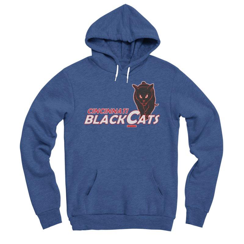 Cincinnati Black Cats Men's Sponge Fleece Pullover Hoody by Sanctuary Sports