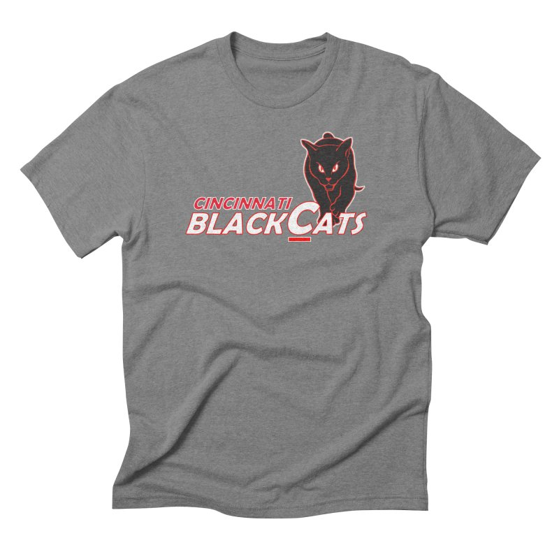Cincinnati Black Cats Men's Triblend T-Shirt by Sanctuary Sports