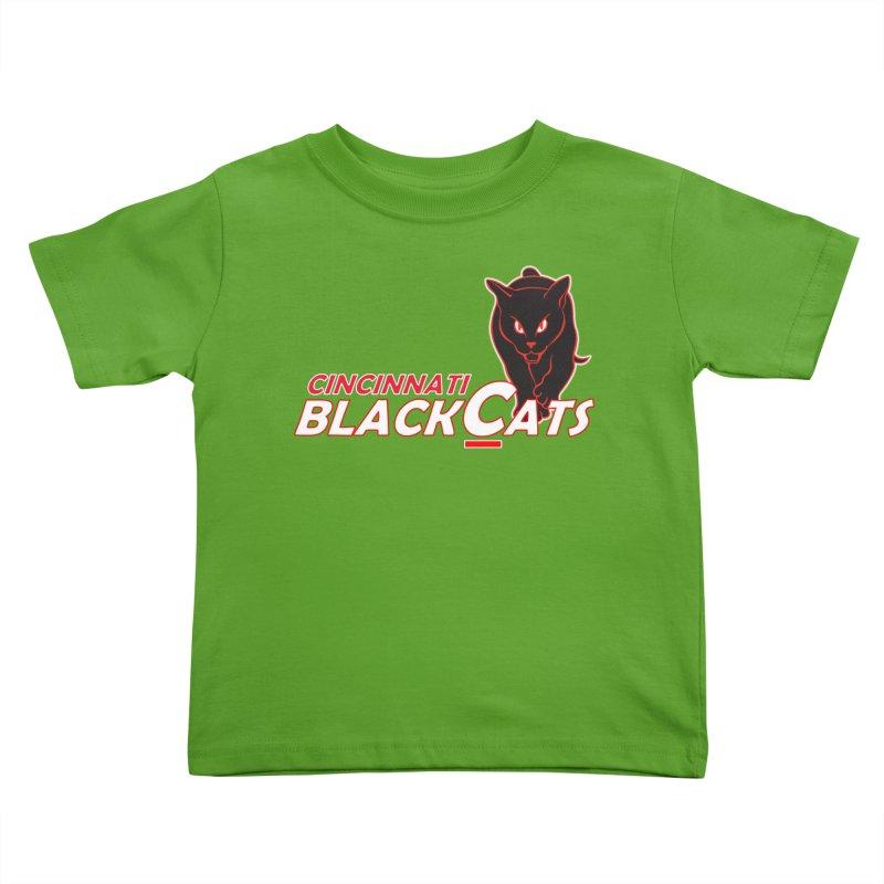 Cincinnati Black Cats Kids Toddler T-Shirt by Sanctuary Sports LLC
