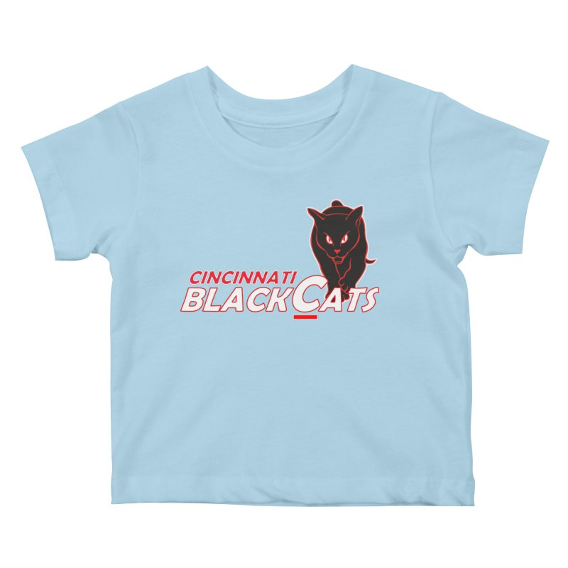Cincinnati Black Cats Kids Baby T-Shirt by Sanctuary Sports