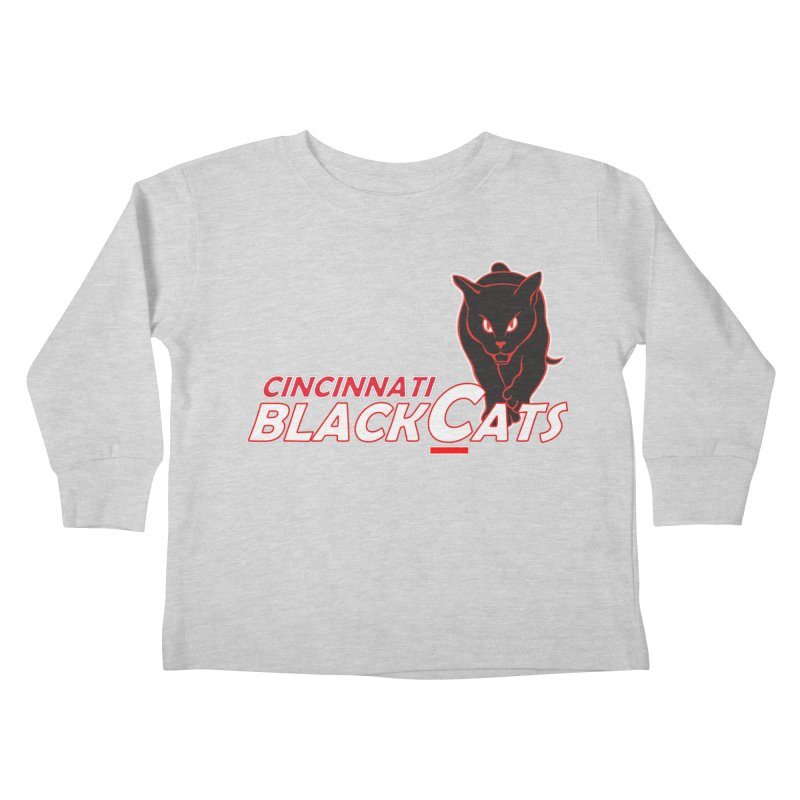 Cincinnati Black Cats Kids Toddler Longsleeve T-Shirt by Sanctuary Sports